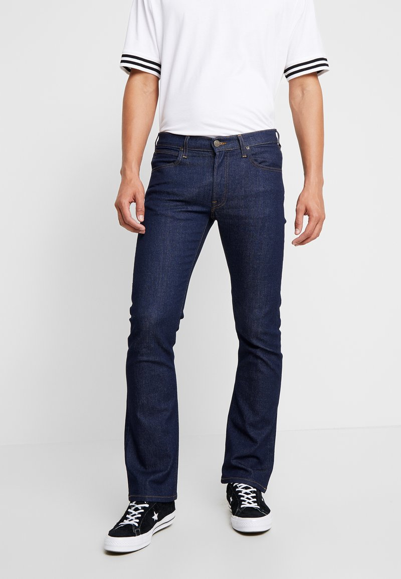 Lee - TRENTON - Bootcut jeans - dark-blue denim