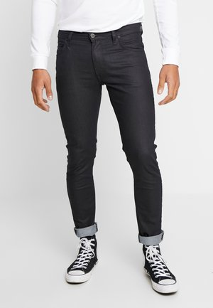 LUKE ZIP POCKET - Slim fit jeans - black denim