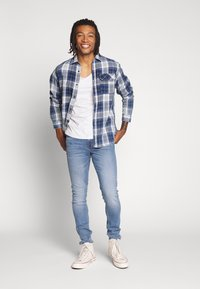 Lee - MALONE - Jeans Skinny Fit - stone blue - 1