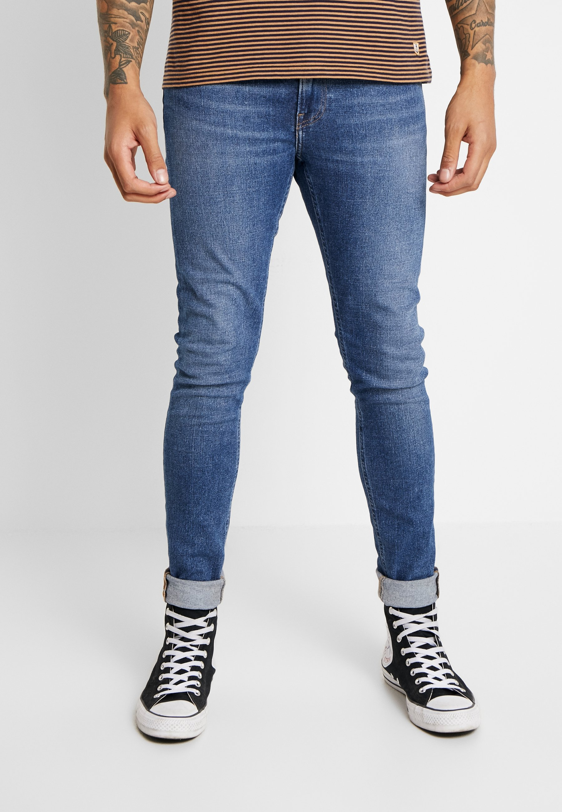 Lee MALONE - Jeansy Skinny Fit - easy blue