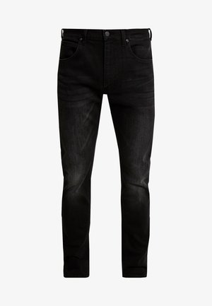 DAREN ZIP FLY - Jeans Straight Leg - moto black