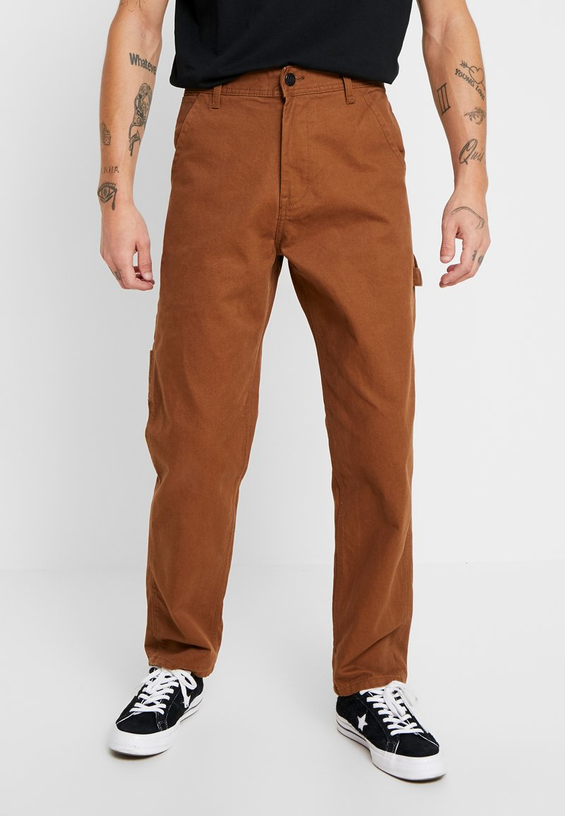 Lee - CARPENTER - Relaxed fit jeans - toffee