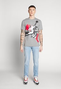 Lee - DAREN BUTTON FLY - Jeans a sigaretta - mid city worn - 1