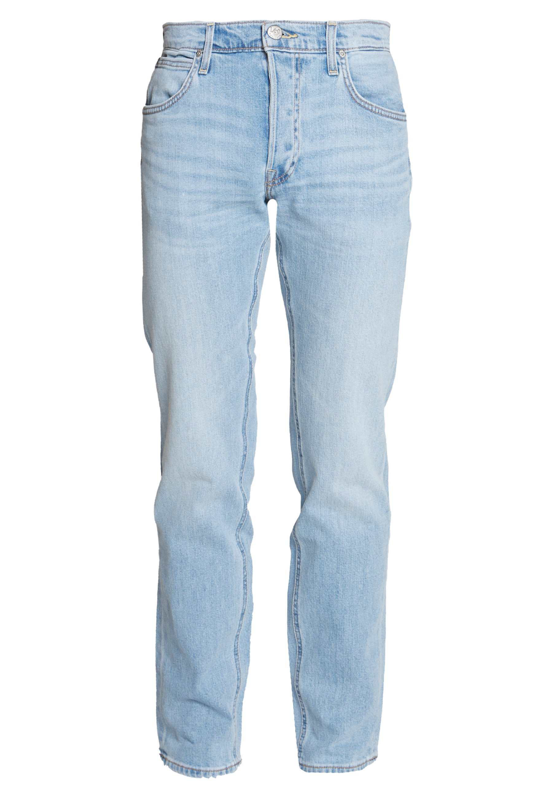 Lee DAREN BUTTON FLY - Jeansy Straight Leg - mid city worn