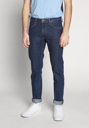 DAREN ZIP FLY - Jeans straight leg - dark stonewash