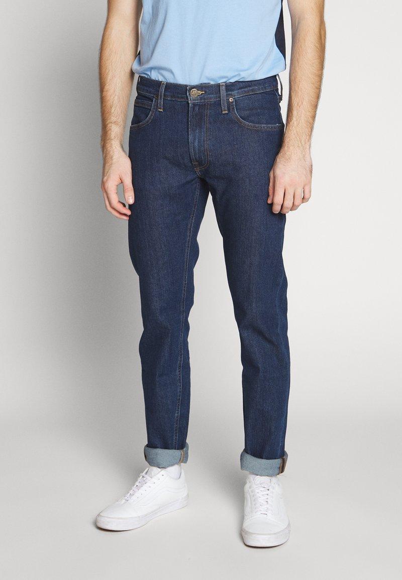 Lee - DAREN ZIP FLY - Jeans straight leg - dark stonewash