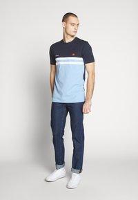 Lee - DAREN ZIP FLY - Jeans straight leg - dark stonewash - 1