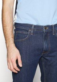 Lee - DAREN ZIP FLY - Jeans straight leg - dark stonewash - 3