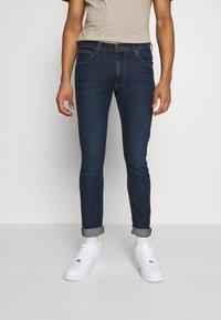 Lee - LUKE - Jeans slim fit - dark brisbee - 0