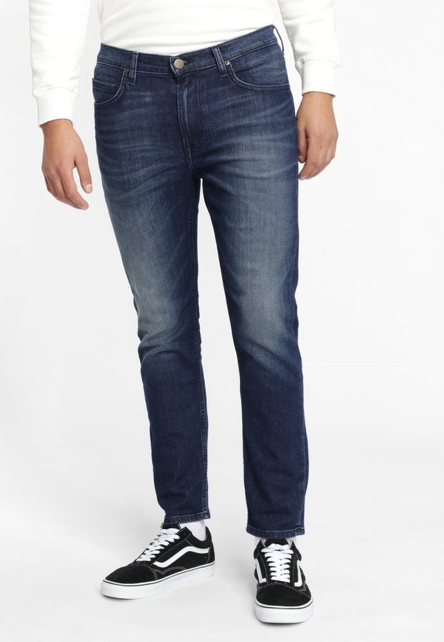 RIDER CROPPED - Slim fit jeans - sky blue