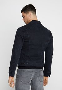 Lee - SLIM RIDER - Kurtka jeansowa - dark raven - 2