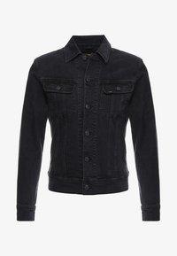 Lee - SLIM RIDER - Kurtka jeansowa - dark raven - 3