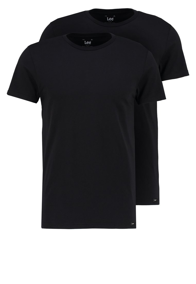 Lee - 2 PACK - T-shirt basique - black