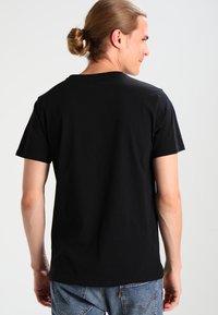 Lee - LOGO TEE - T-shirt con stampa - black - 2