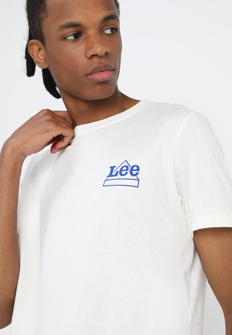 Lee MINI LOGO - T-shirt imprimé vanilla ice
