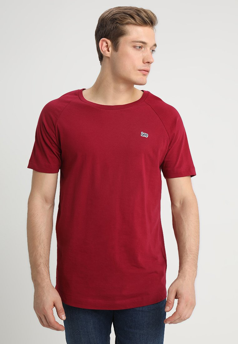 Lee - LONGSHAPE TEE - T-Shirt basic - faded red