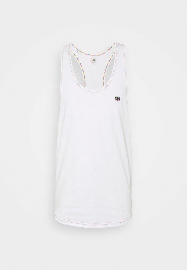 LOOSE TANK - Top - white