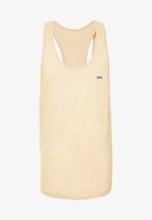 LOOSE TANK - Top - dust beige