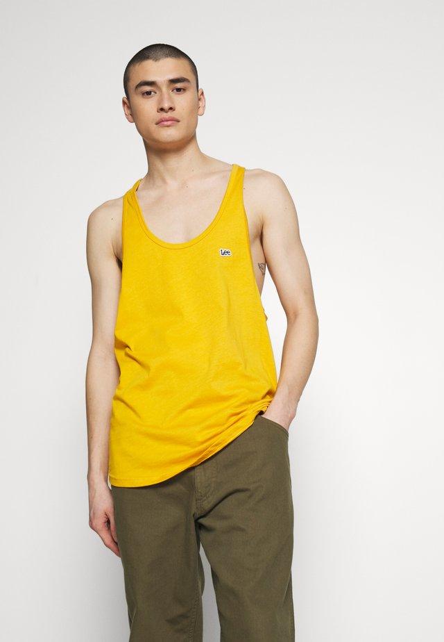 PRIDE TANK - Top - golden yellow