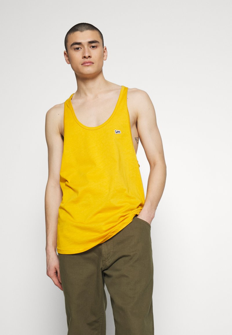 Lee - PRIDE TANK - Top - golden yellow