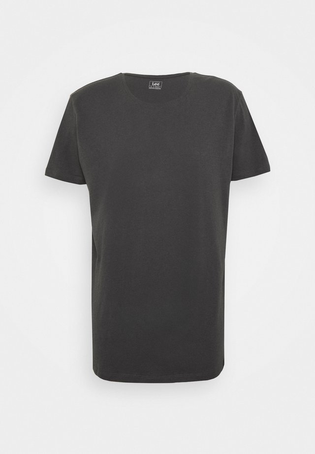 SHAPED TEE - T-Shirt basic - black