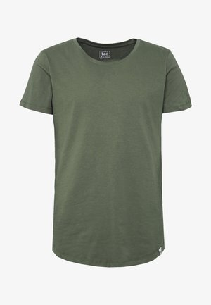 SHAPED TEE - T-shirt basic - utility green
