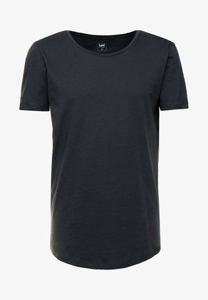 SHAPED TEE - T-shirts - washed black