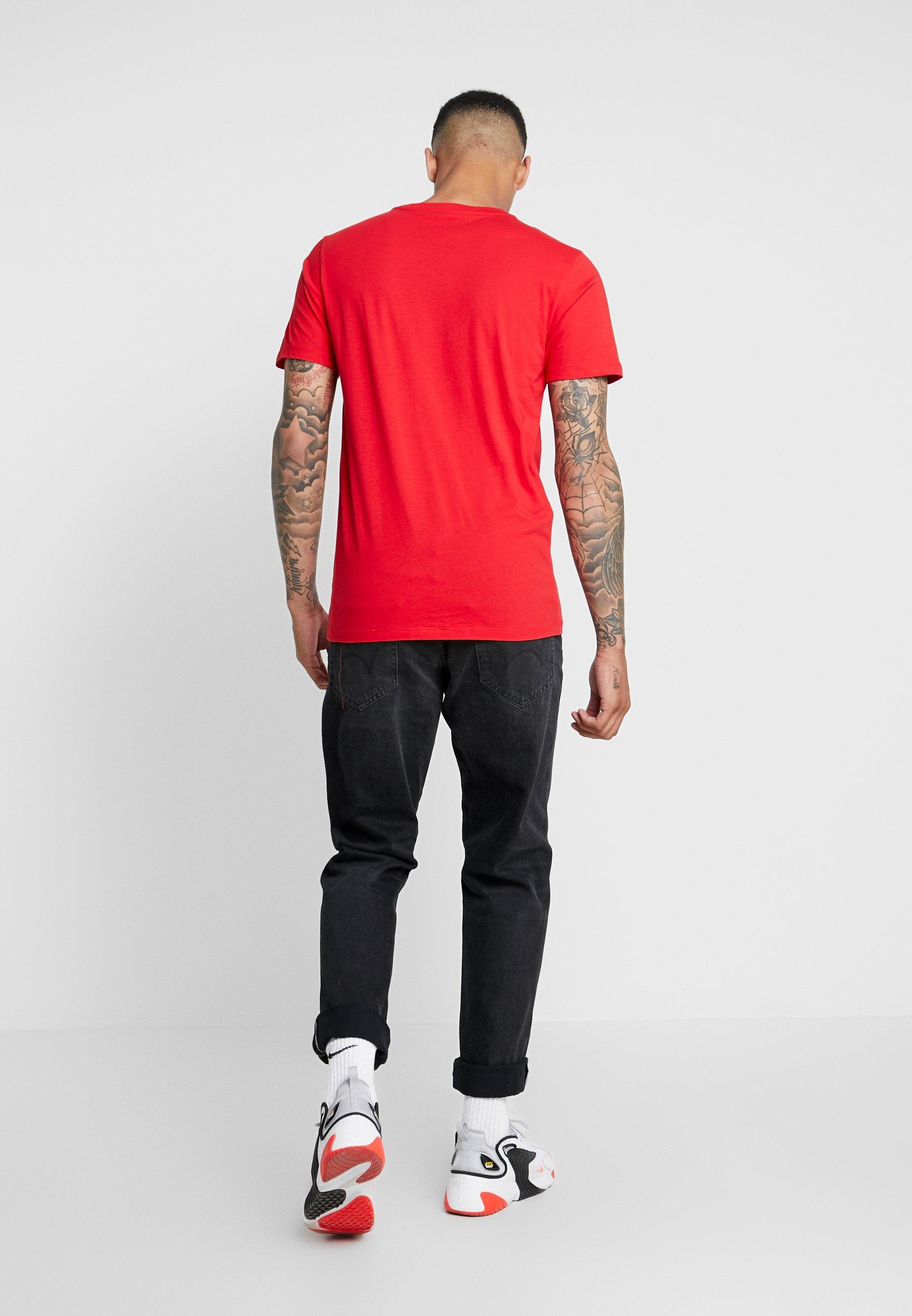 Lee Red Imprimé Logo TeeT shirt Warp EDYe9IbWH2