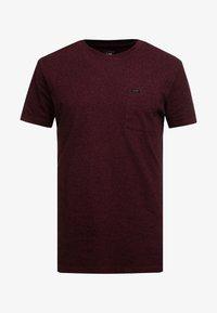 Lee - ULTIMATE - T-shirt basic - burgundy - 4