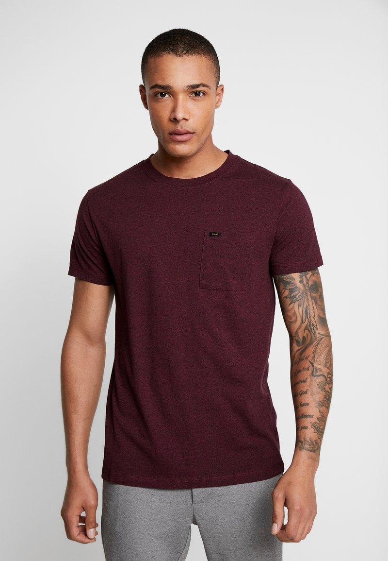 Lee - ULTIMATE - T-shirt basic - burgundy