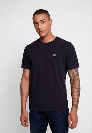 STRIPE - T-shirt basic - midnight navy