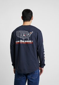 Lee - ROAD TEE  - Maglietta a manica lunga - midnight navy - 2