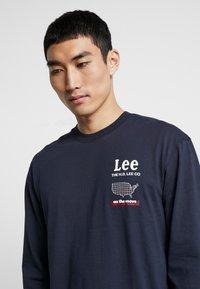 Lee - ROAD TEE  - Maglietta a manica lunga - midnight navy - 4