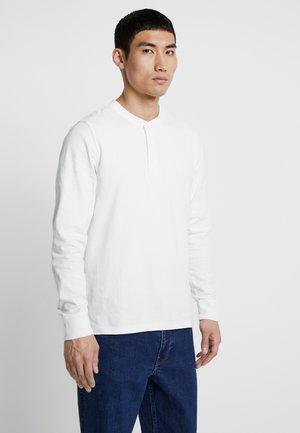 HENLEY - Bluzka z długim rękawem - off white