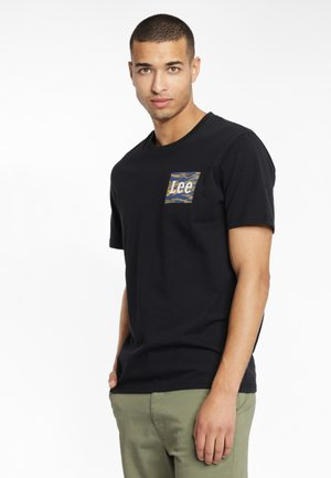 CAMO PACKAGE - T-shirt con stampa - black