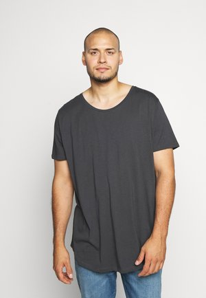 SHAPED TEE - Jednoduché triko - washed black
