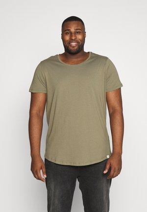 SHAPED TEE - T-shirt basic - utility green