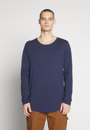 SHAPED - Long sleeved top - navy