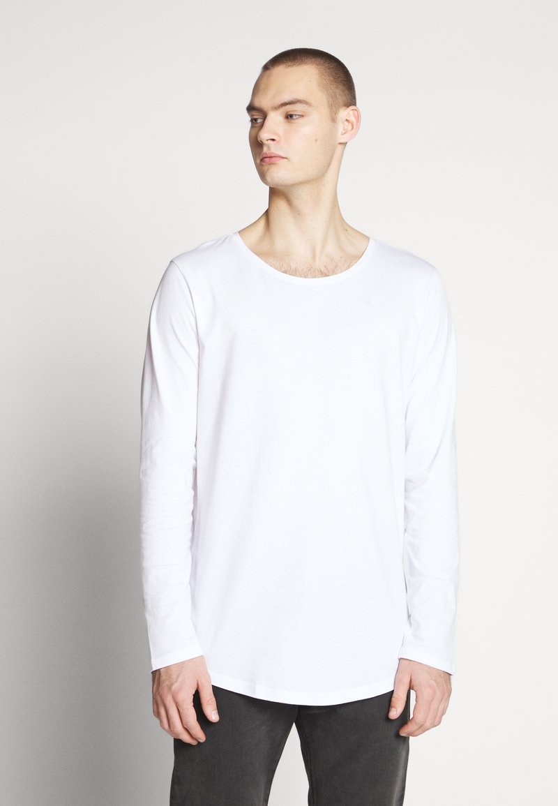 Lee - SHAPED TEE - Long sleeved top - white