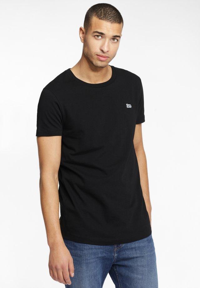 ELONGATED TEE - T-Shirt basic - black