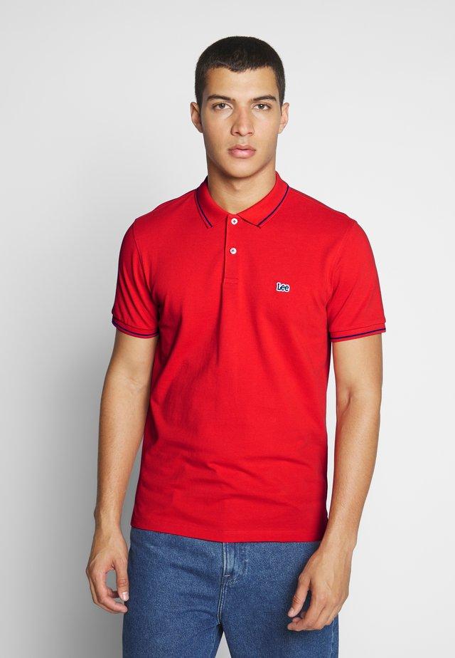 Polo - poppy red