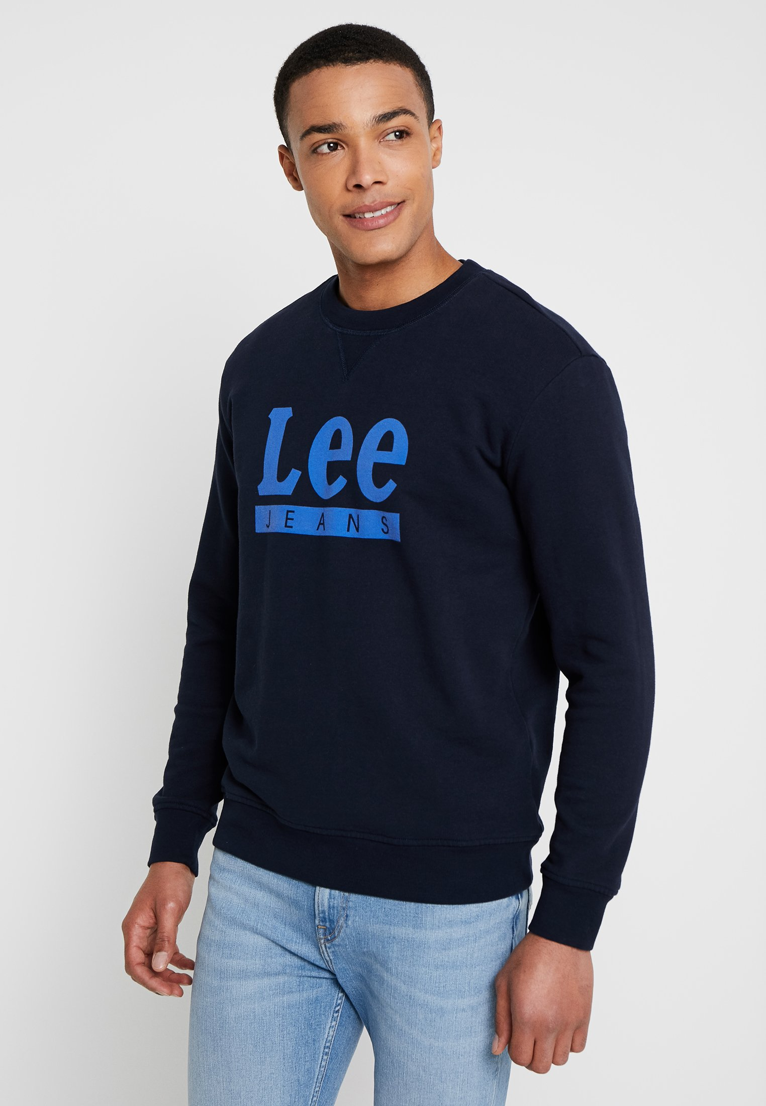 Captain CrewSweatshirt Basic Graphic Lee Sky dthCQrxs