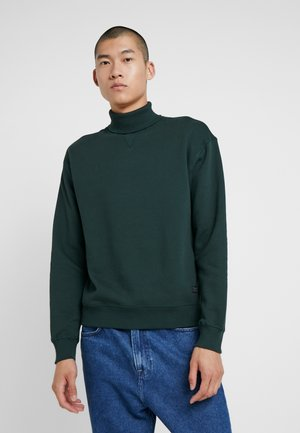 HIGHNECK - Sweatshirt - dark bottle green