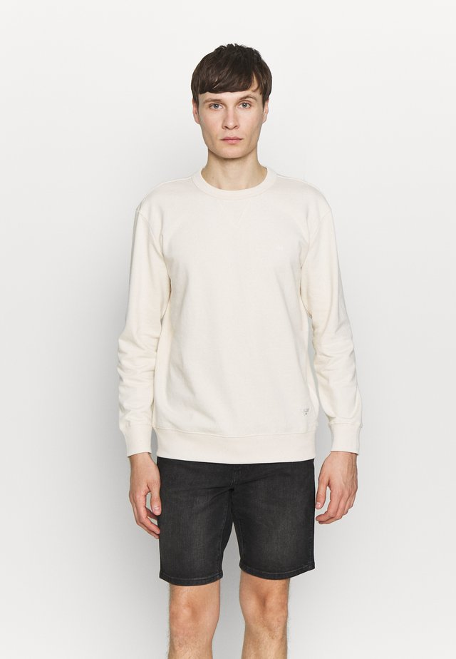 SUSTAINABLE CREW  - Sweatshirt - ecru mele