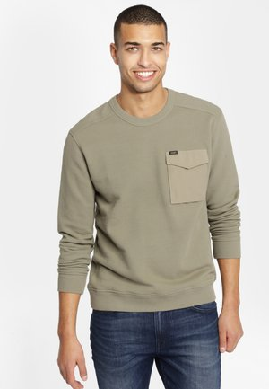 MILITARY - Neule - utility green
