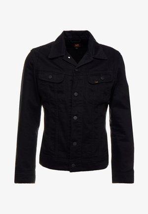 SLIM RIDER - Džínová bunda - black rinse