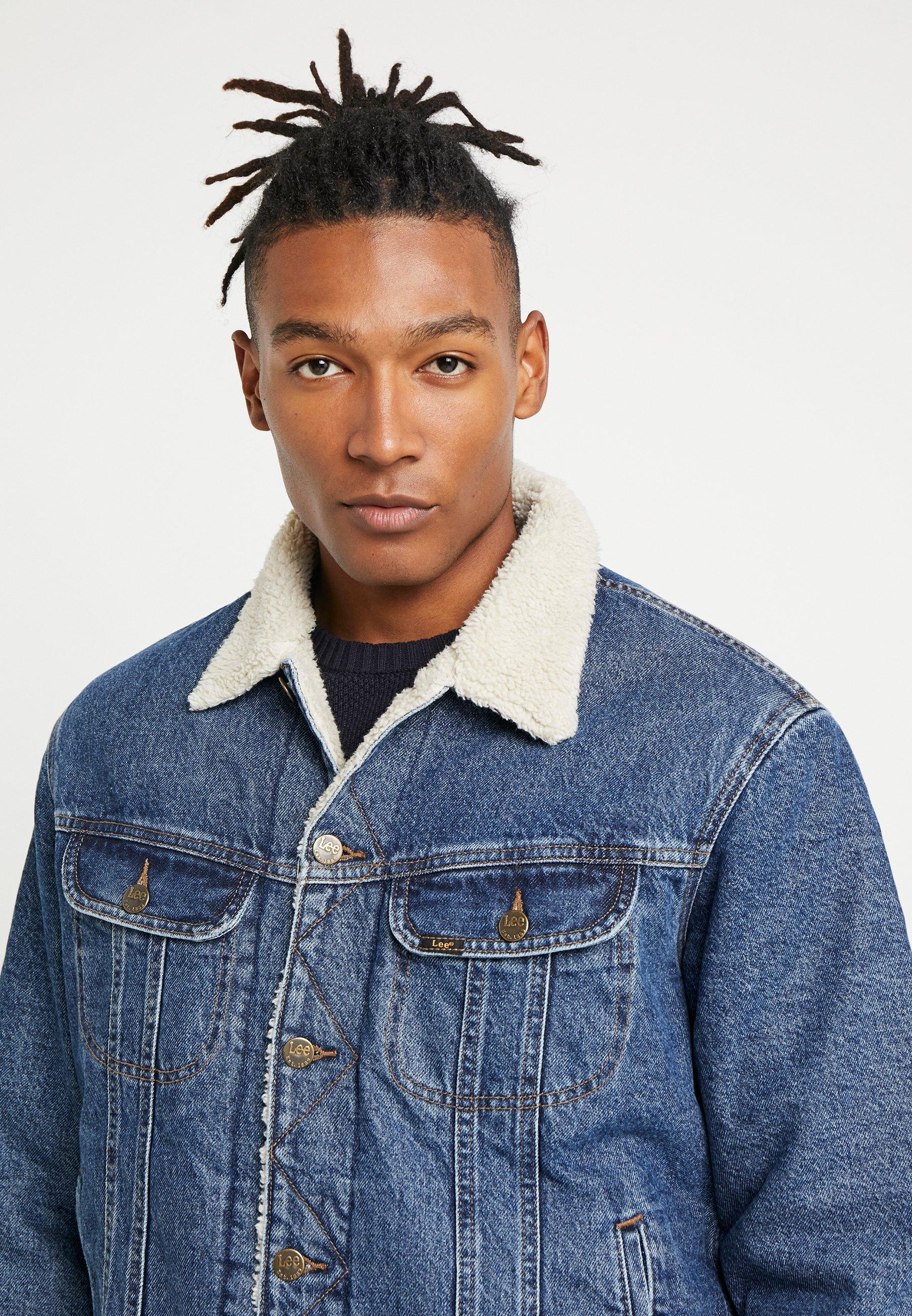 lee kurtka overshirt jeansowa rider