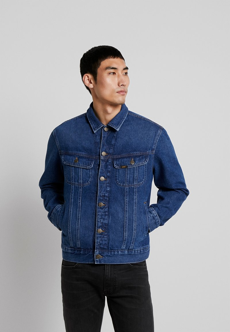 Lee - RIDER JACKET - Denim jacket - mid stone