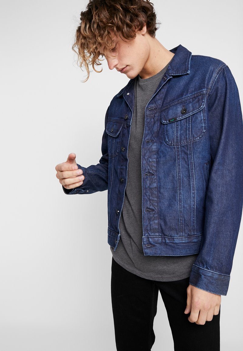 Lee - RIDER JACKET - Denim jacket - dark electric
