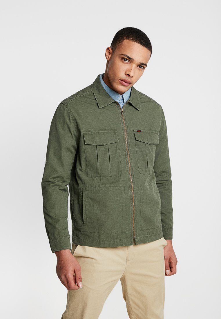 Lee - FATIQUE - Summer jacket - khaki